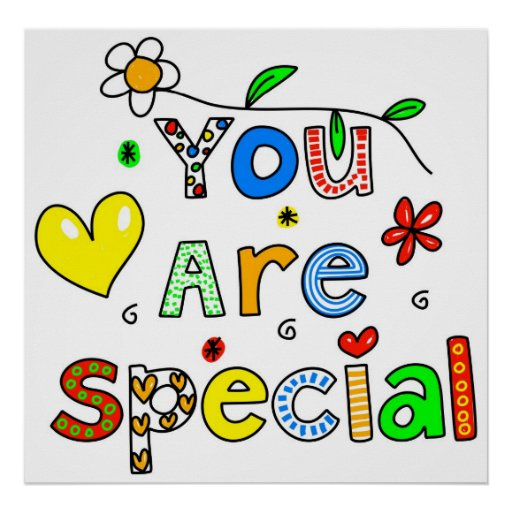 You Are Special Poster | Zazzle