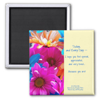 You are Special! Square Magnet