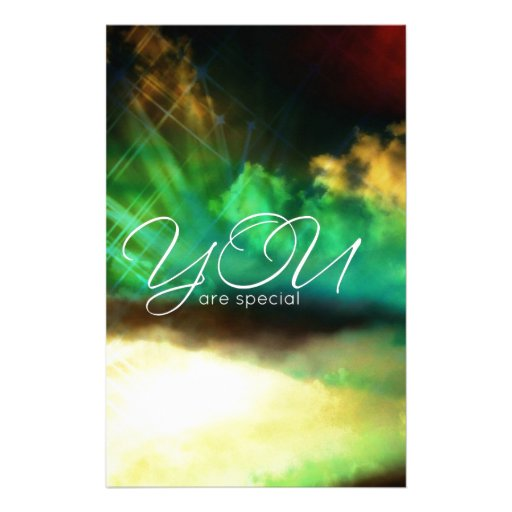 YOU are special Personalized Stationery