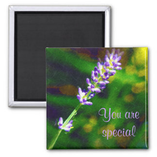 You are Special Uplifting and Encouraging Square Magnet