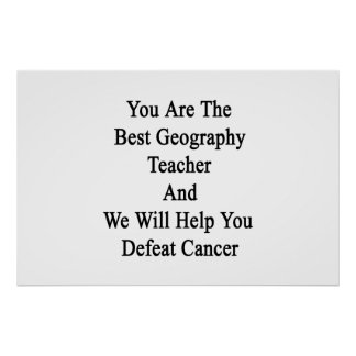 You Are The Best Geography Teacher And We Will Hel Print