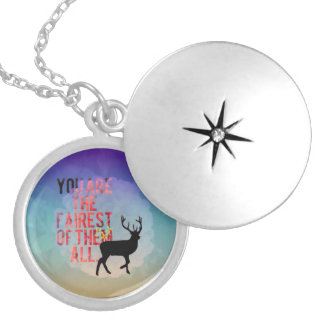You Are The Fairest Of Them All. Pendant