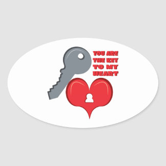 You Are The Key Stickers
