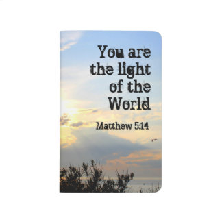 You are the Light ~ pocket journal