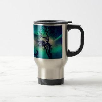 You Are the Light Turquoise Travel Mug