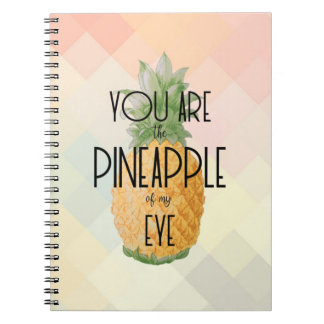 """You are the Pineapple of my Eye"" Notebook"