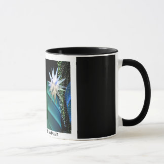 """YOU ARE THE STAR"" 11 oz. RINGER COFFEE MUG"