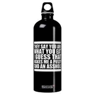 You Are What You Eat SIGG Traveller 1.0L Water Bottle