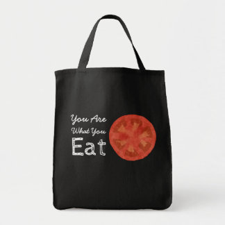 You Are What You Eat Tomato Tote Bag