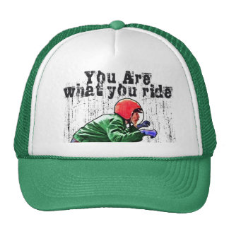 You Are What You Ride - Motorcycle Style Status Trucker Hats