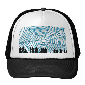 You are within my network trucker hat