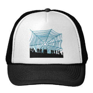 You are within my network mesh hat