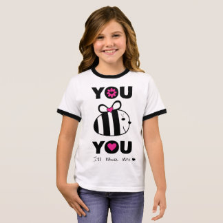 YOU BE YOU I'll BE ME Ringer T-Shirt