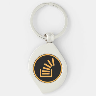 You bet i have my gold Silver-Colored swirl key ring