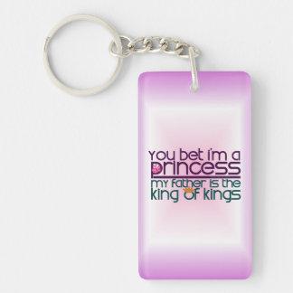 You Bet I'm a Princess Acrylic Key Chains