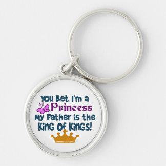 You Bet I'm a Princess Keychain