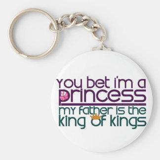 You Bet I'm a Princess Key Chain
