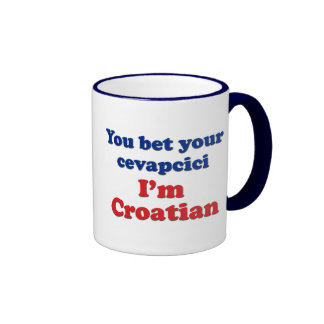 You Bet Your Cevapcici (sausage)... Ringer Mug