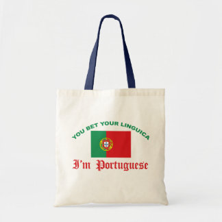 You Bet Your Linguica Canvas Bag