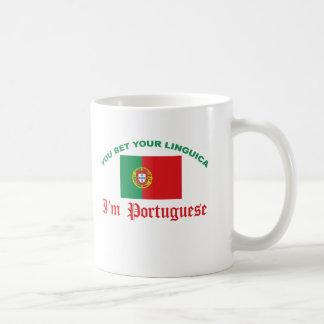 You Bet Your Linguica Basic White Mug
