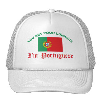 You Bet Your Linguica Trucker Hat