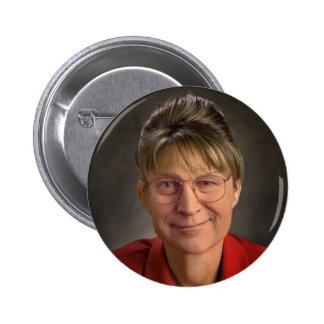 You Betcha! Sarah Palin & Dick Cheney VP, Politics 6 Cm Round Badge