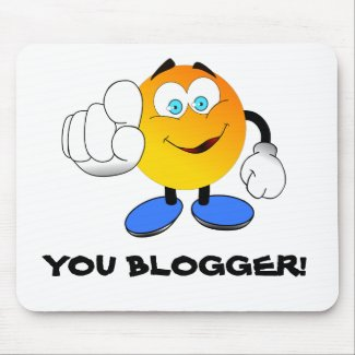 You Blogger! mousemat