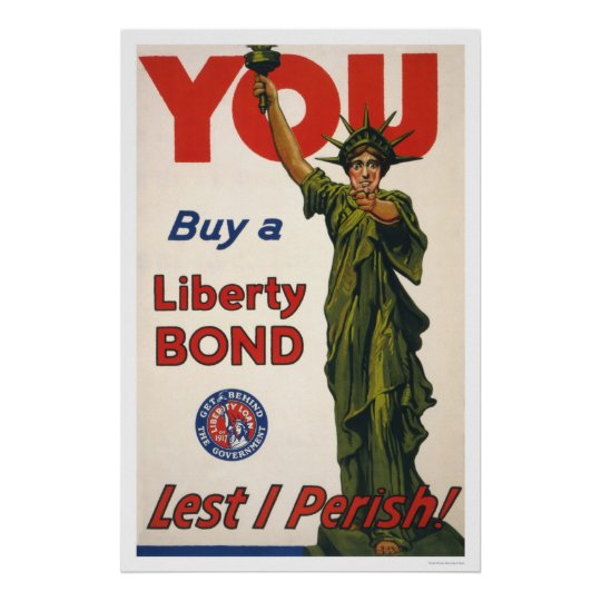 You--Buy a Liberty Bond--Lest I Perish! Poster