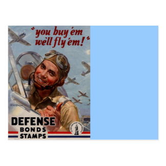 You Buy em and We ll Fly em Postcards