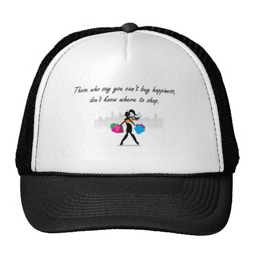 You can buy happiness mesh hat