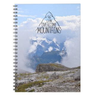 You Can Climb Mountains Spiral Notebook