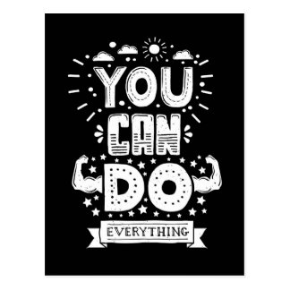 You Can Do Everything Postcard