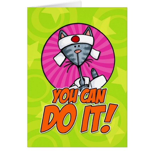 You Can Do It! Card