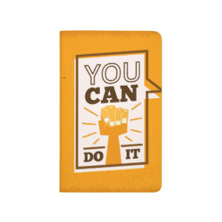 You Can Do It positive motivational african art Journal