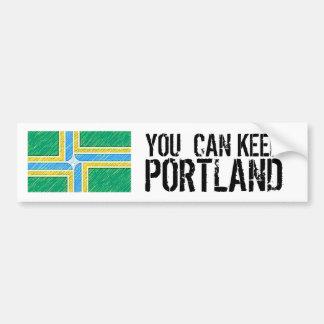You Can Keep Portland Bumper Sticker