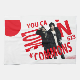 YOU CAN LOVECOMMONS towel Type1