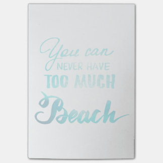 You Can Never Have Too Much Beach Post-it® Notes