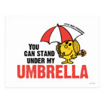 You Can Stand Under My Umbrella Postcards