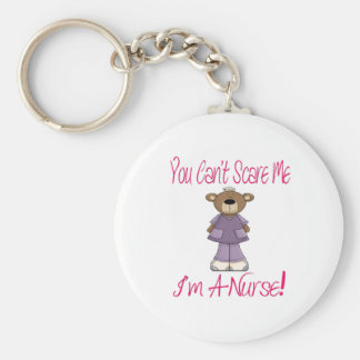 You Can t Scare Me I m A Nurse Keychain