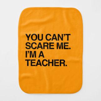 YOU CAN T SCARE ME I M A TEACHER - Halloween Burp Cloth