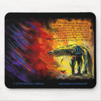 You Can't Beat Me Down mousepad