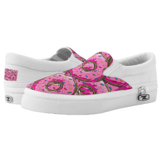 You can't buy happiness but many donuts printed shoes