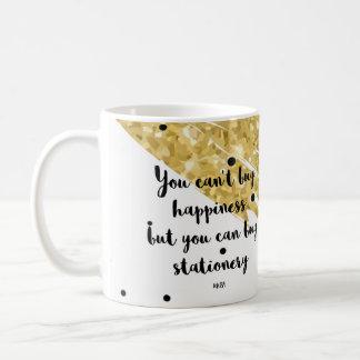 You can't buy happiness coffee mug