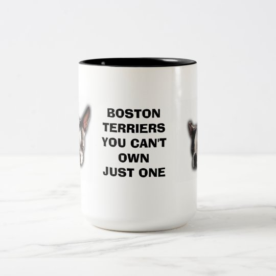 You Can't Own Just One Two-Tone Coffee Mug
