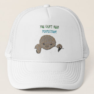 You Can't Rush Perfection Baby Sloth Trucker Hat