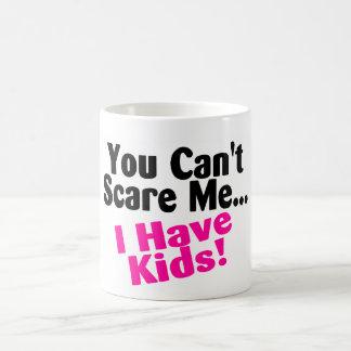 You Cant Scare Me I Have Kids Basic White Mug