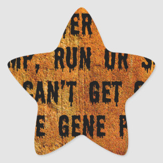 You Can't Swim Out Of The Gene Pool Funny Relative Star Sticker