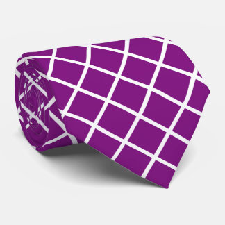 You choose background color and white squares tie