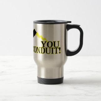 You Conduit Travel Mug