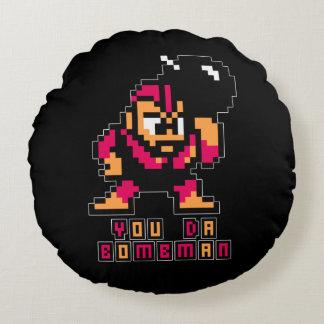 You Da Bombman 2 Round Cushion